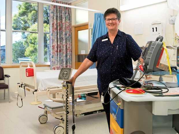 WONDERFUL NURSES: Gatton nurse Trish Jamieson celebrated International Nurses Day last week.