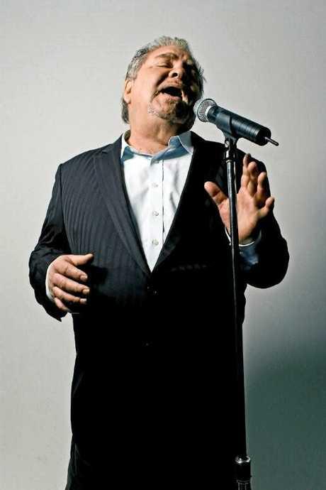 Doug Parkinson honours Joe Cocker at Twin Towns on Friday night.