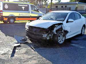 Car crash causes fuel leak near Biggenden