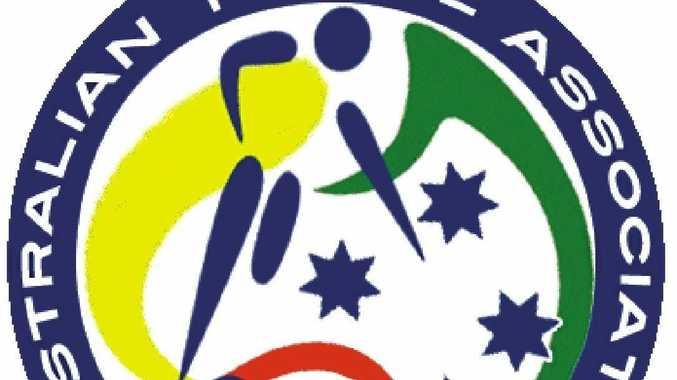 Futsal Australia logo.