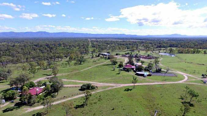 LONG HISTORY: Galloway Plains, a cattle grazing property west of Calliope, sold at auction for $15 million.