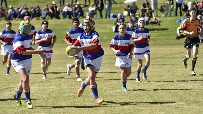 IN ACTION: Alex Reed plays for Darling Downs last year.