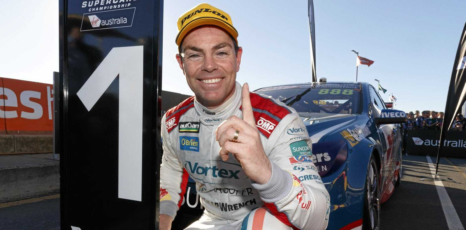 Craig Lowndes will grace Supercars for at least a few years yet