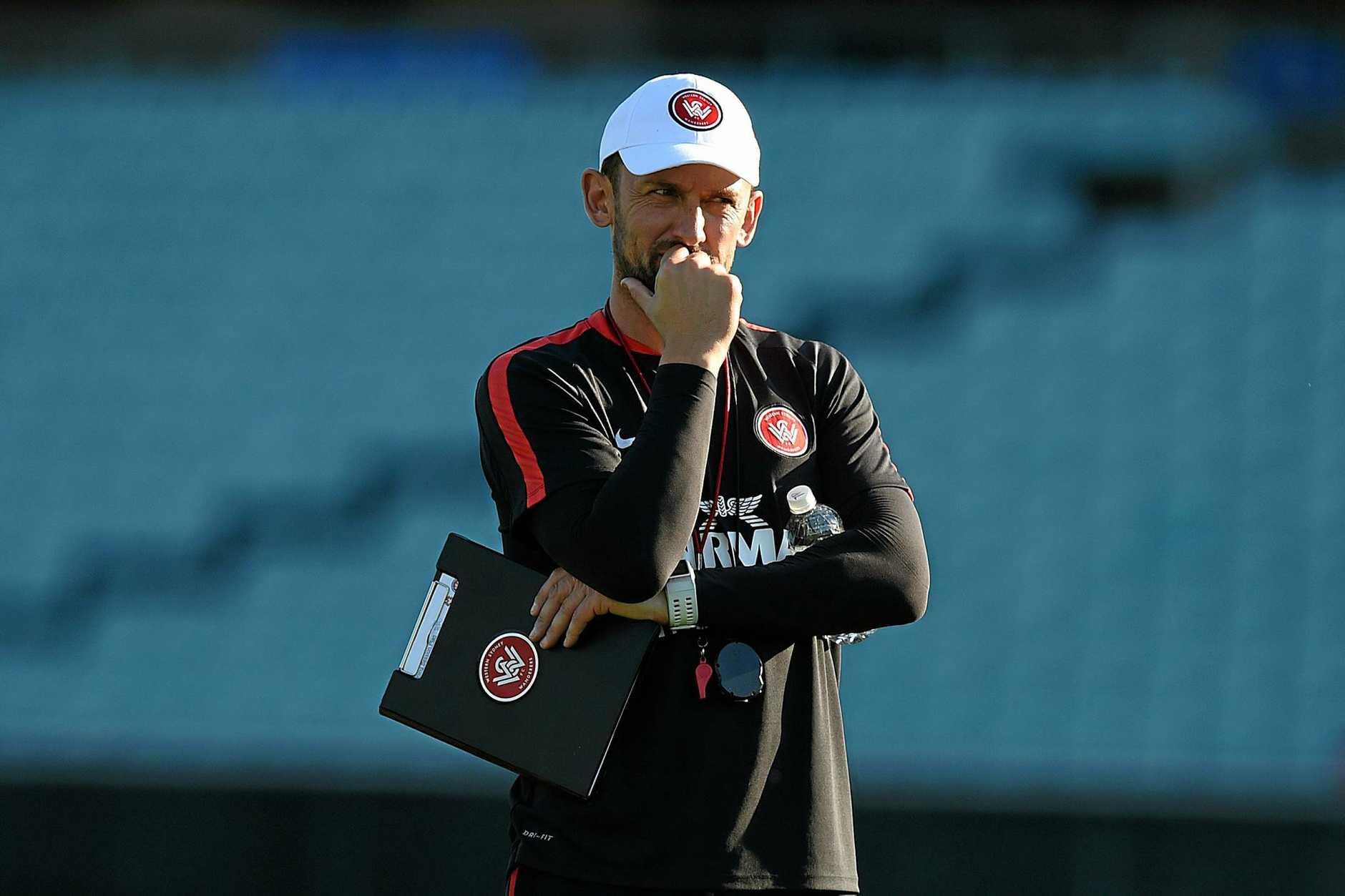 Western Sydney Wanderers coach Tony Popovic.