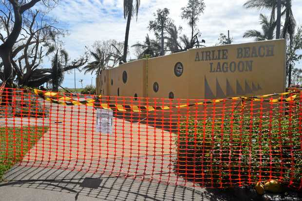 SHUT: Airlie's lagoon is expected to open in 8-10 weeks