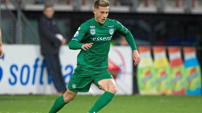 Australian-born Ajdin Hrustic in action for Groningen. Source: Supplied