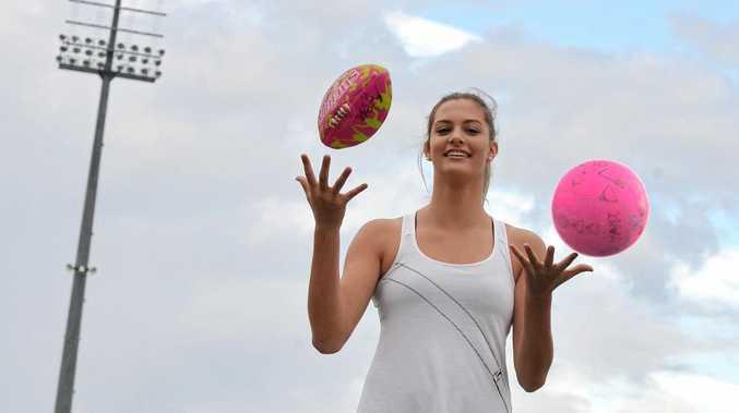 Mackay's Lauren Bella has excelled in both AFL and Netball.