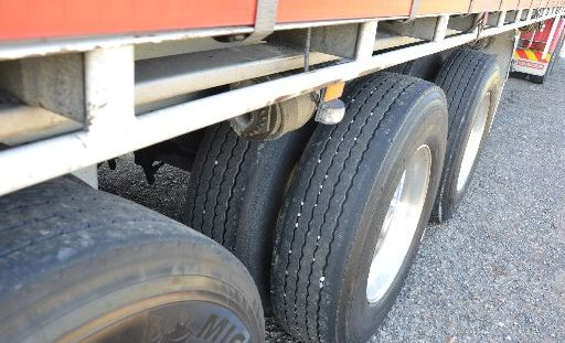 A truck has lost its trailer on the Bruce Hwy on the Sunshine Coast.