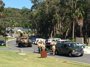 Coast soldier farewelled by hundreds after tragic death