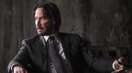 Keanu Reeves in a scene from the movie John Wick: Chapter 2.