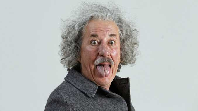 Geoffrey Rush stars as Albert Einstein in the TV series Genius.