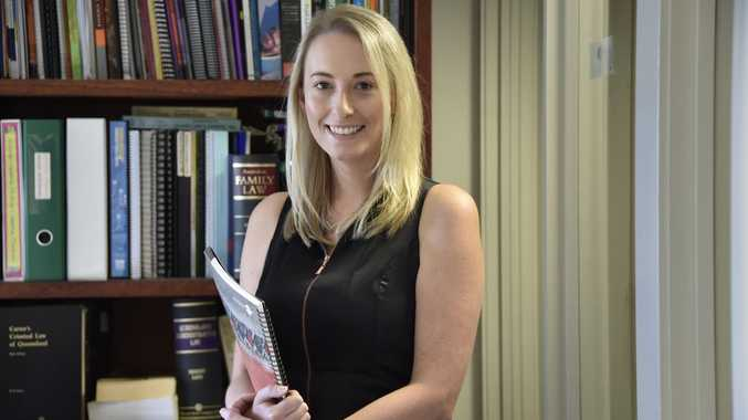 Toowoomba lawyer Miranda Woodland is in line for a prestigious award.