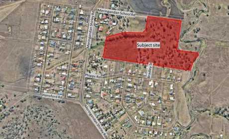 Developer Kassaki Pty Ltd is planning to construct a housing development in Meringandan.
