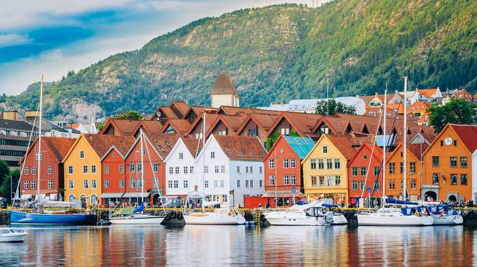 The best way to see the magic of Bergon, Norway, is by ship.