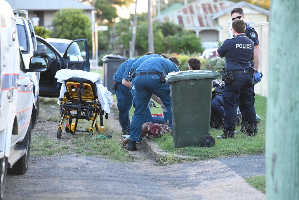 Stabbing in McConville Street Bundaberg.
