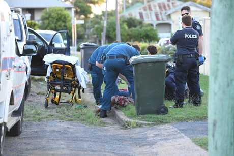 Stabbing in McConville Street Bundaberg.