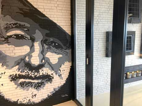 DECOR: Ernest Hemingway was the inspiration behind the new restaurant at Abell Point Marina.