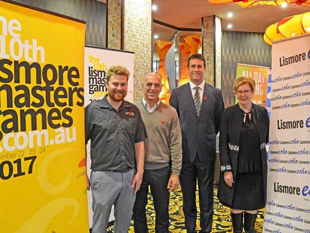 Launch of 2017 Masters Games at Lismore Worker's Club