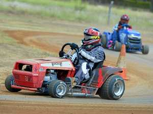 Oh Booy! Yaamba mower racer laps up competition