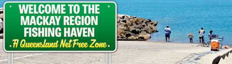 Hay Point boat ramp with a suggested tourist slogan.