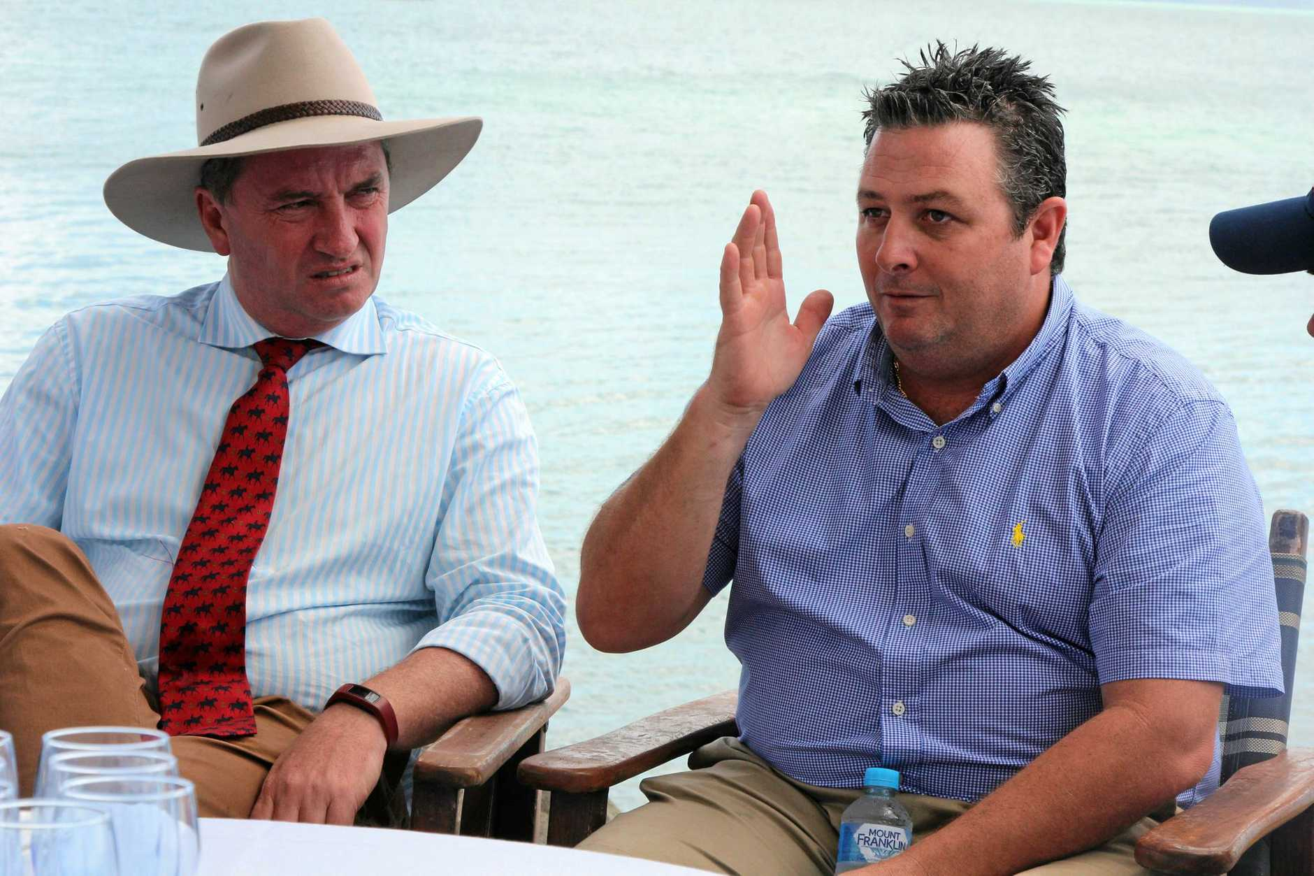 BOLD: Tourism Whitsundays CEO Craig Turner  pushed for  BAS and GST requirements to be waived for one quarter.