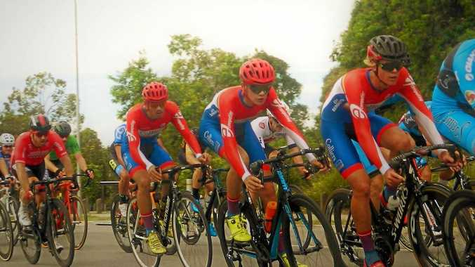 Colliers International racing team is preparing to line up in this year's Queensland Road Team Series.