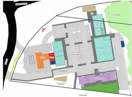 Wayne and Karina Perry's proposed 'Panorama Plaza' development at Farnborough.