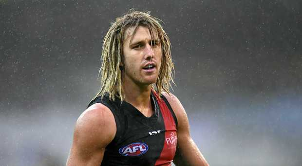 Dyson Heppell injured his hand on a dinner plate.