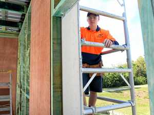 Ipswich apprentices' renovation mission starts to take shape