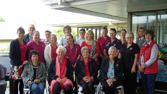 RELAX: Nurses past and present gather to celebrate International Nurses Day.