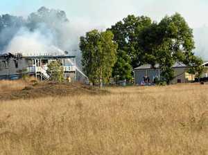 Firefighters battle Summerholm house fire
