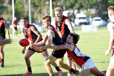 AFL Hervey Bay - Hervey Bay Bombers versus Brothers Bulldogs -