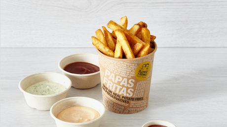 The new fries at Guzman y Gomez in Toowoomba.