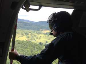 Coast choppers join search for missing pilot