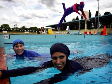 With only one pool at the previous centre, Muslim women had to cover up.