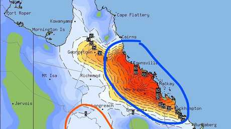 Major storms systems expected to hit Queensland.