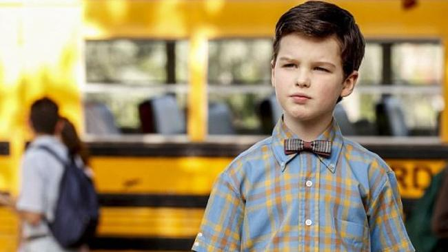 Big Little Lies star Iain Armitage stars as Young Sheldon.