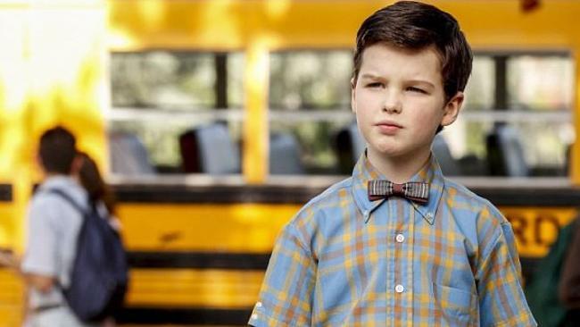 Big Little Lies star Iain Armitage stars as Young Sheldon.