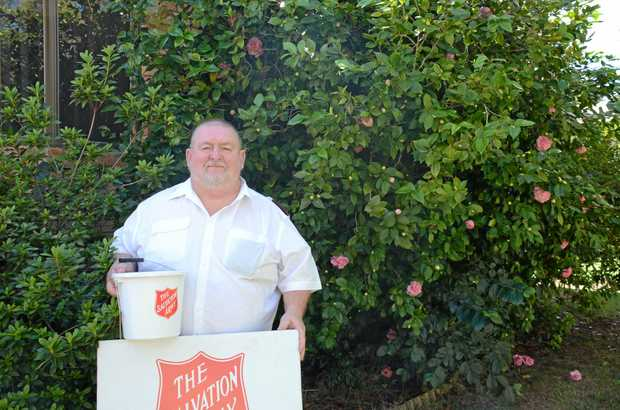 WORTHY CAUSE: While the Salvation Army isn't running an official door knock for the Red Shield Appeal Major Alan Kerr said community groups are welcome to collect anyway.