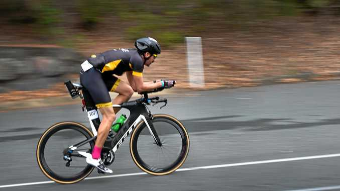 ACTIVE: Trilogy Cycles owner Keith Maricich at Ultraman Australia 2017.