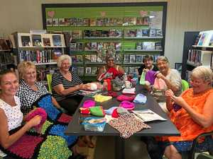 St Lawrence Library transforms to a knitting hub