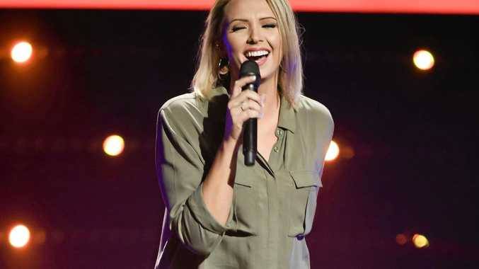 Moranbah's Brooke Schubert has made it to the knockout rounds of The Voice due to air on Channel Nine on Monday.