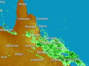 Bundaberg stuck between two weather systems