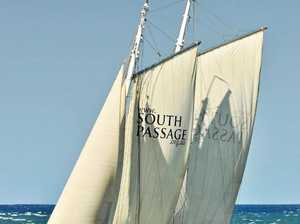 South Passage ship arrives at Keppel Bay