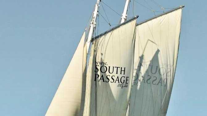 SETTING SAIL: The tall ship South Passage will be moored at Keppel Bay Marina this weekend.