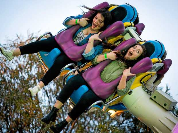 Calling all thrill-seekers to The Gympie Show.