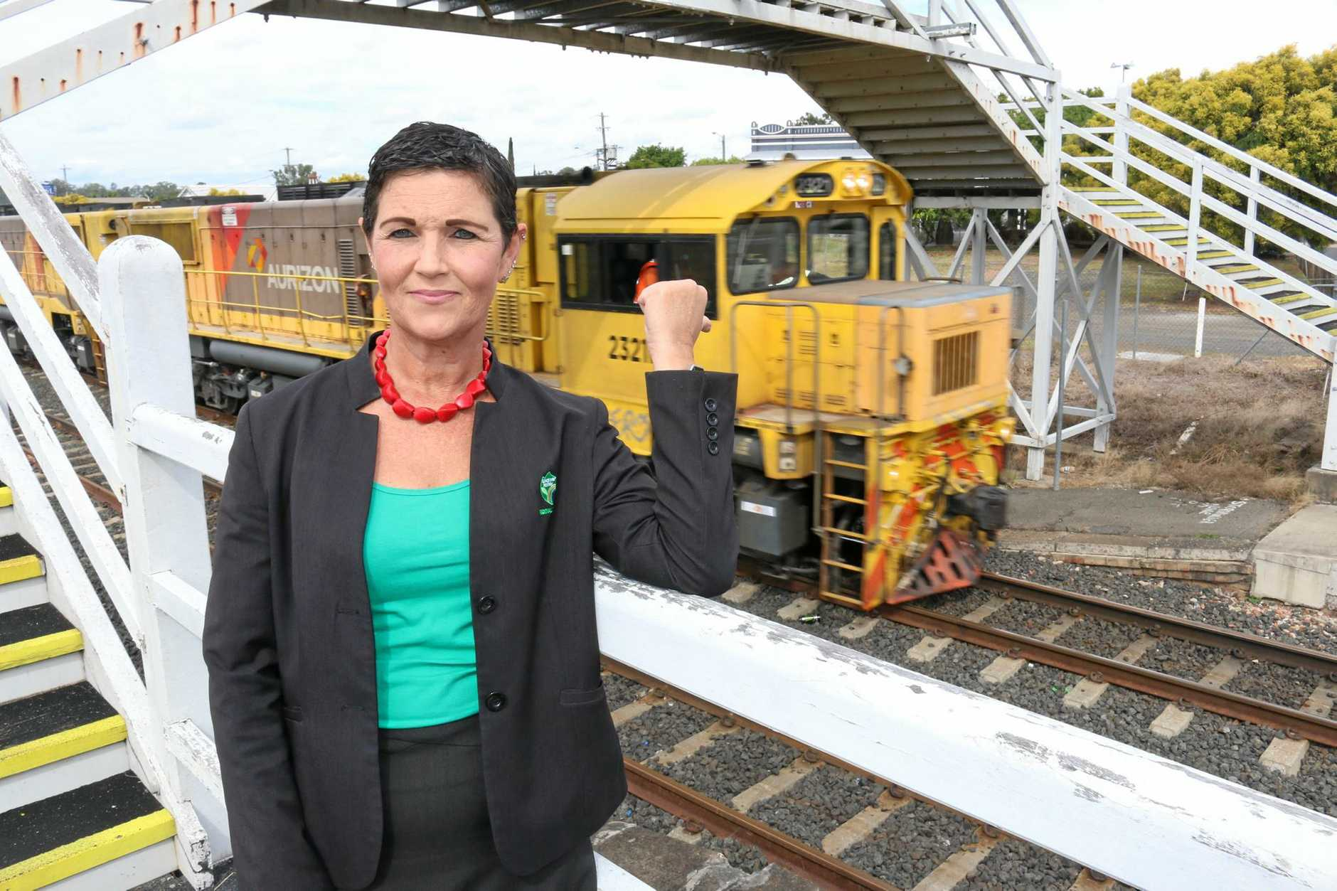SPEAK UP: Lockyer Valley mayor Tanya Milligan is urging residents to have their say on the Melbourne to Brisbane Inland Rail project which will run through the Lockyer Valley.