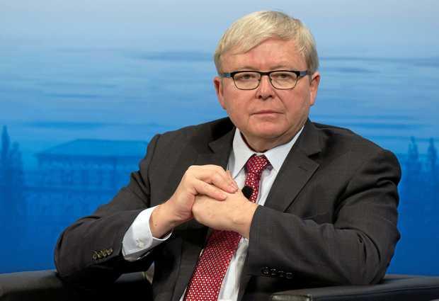 Former Australian Prime Minister Kevin Rudd.