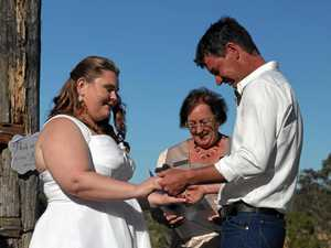 This couple's wedding meant much more