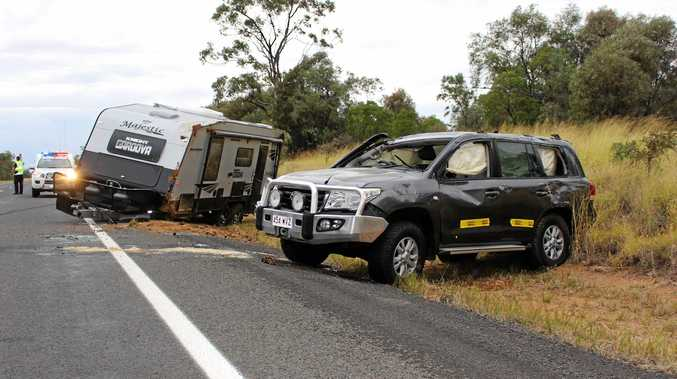 CAR ROLLOVER: A single car has rolled over between Wallumbilla and Roma earlier this afternoon.